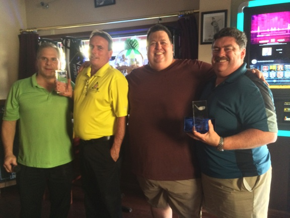 Rob Schoemig, Frank Kotnick, Vytis Kezys and Rick O'Conner