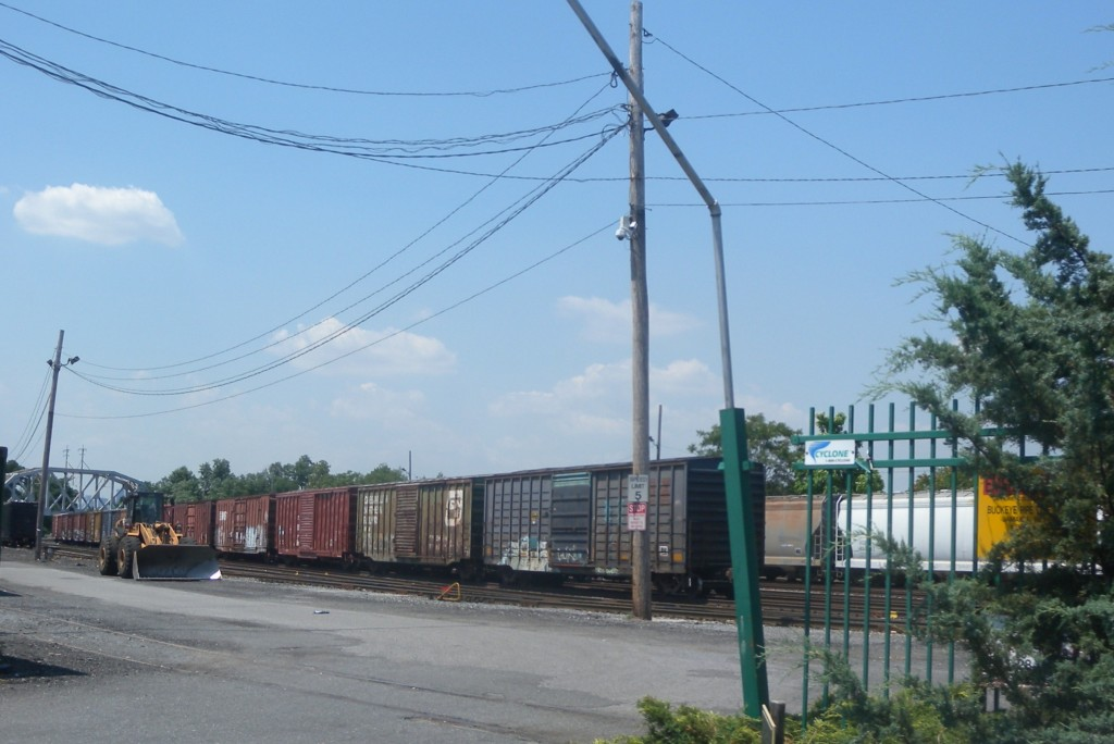 Fresh Pond Railyard