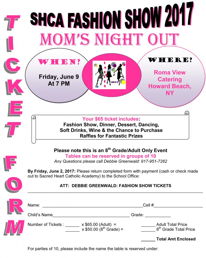 FASHION SHOW TICKET FORM 2
