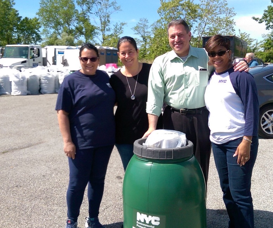 State Senator Joseph Addabbo Jr., and Assemblywoman Stacey Pheffer Amato hosted a similar giveaway earlier this year.