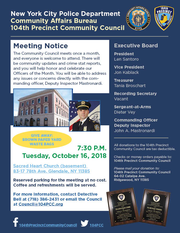 104 Community Council meeting_Oct2018 (1)