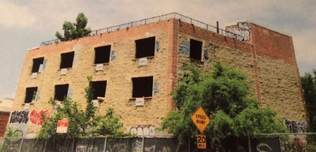 The current building on Cypress Avenue has been in disrepair for more than a decade