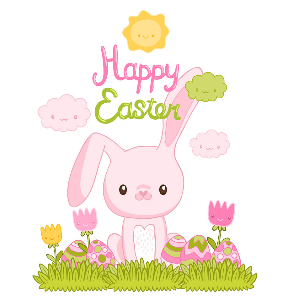 happy-easter-cartoon-cute-bunny-and-eggs-with-vector-1941089