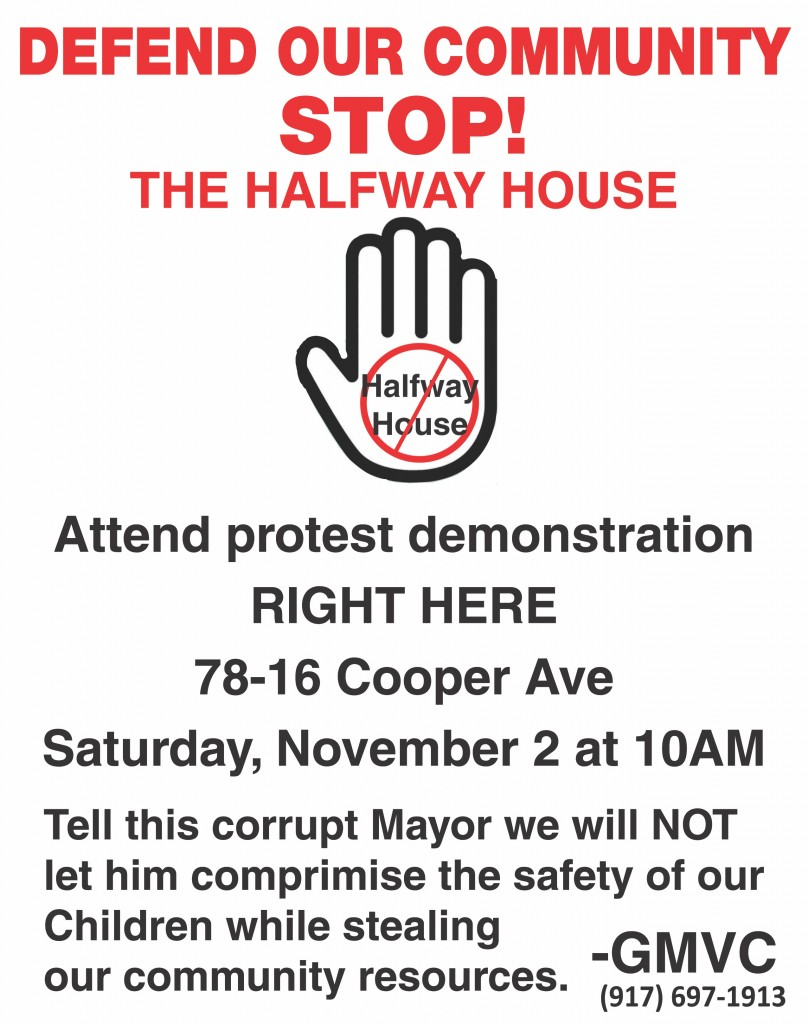 November 2nd Rally Flyer - Mike Papa